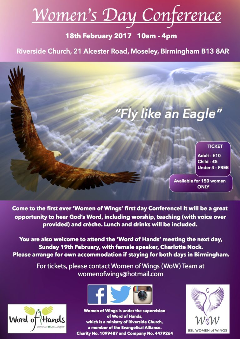 BSL Women of Wings