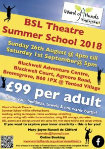 WOH Theatre Summer Week