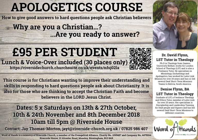 Apologetics Course